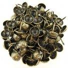 C.S. Osborne Overlap Nail Tacks Antique Brass 100pk [Office Product]