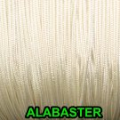 20 FEET:1.8mm ALABASTER LIFT CORD for ROMAN/PLEATED shades & HORIZONTAL blind