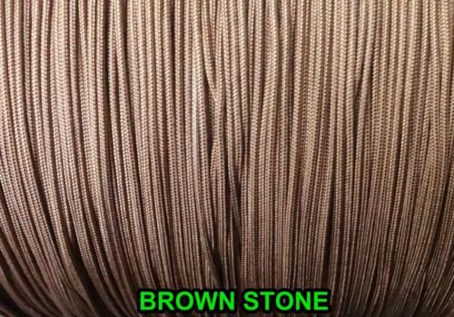 20 FEET:1.8mm BROWNSTONE LIFT CORD for ROMAN/PLEATED shades &HORIZONTAL blind