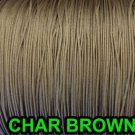100 FEET: 1.8 mm CHAR BROWN Professional Grade Lift Cord For Blinds & Shades: