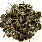"""C.S. Osborne Daisy Nail Tacks-1/2"""" in Antique Brass, No.683 1/2 (100 tacks)"""