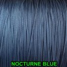 25 YARDS: 1.4 MM Nocturne Blue Professional  Braided Lift Cord / Blinds & Shades