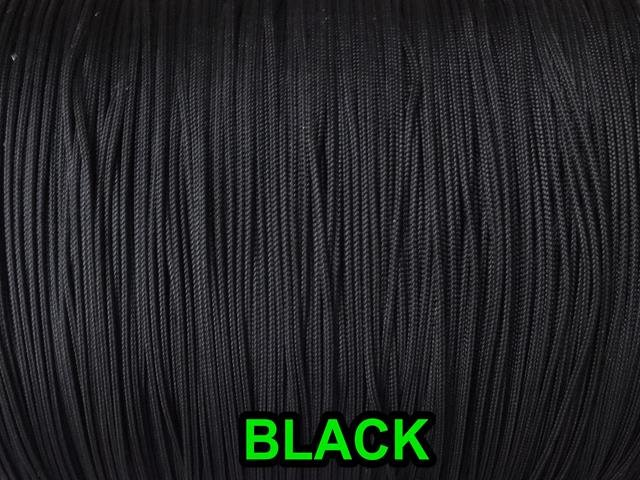 20  FEET:1.6 MM BLACK LIFT CORD for Blinds, Roman Shades and More