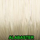 50 FEET:1.6 MM ALABASTER LIFT CORD for Blinds, Roman Shades and More