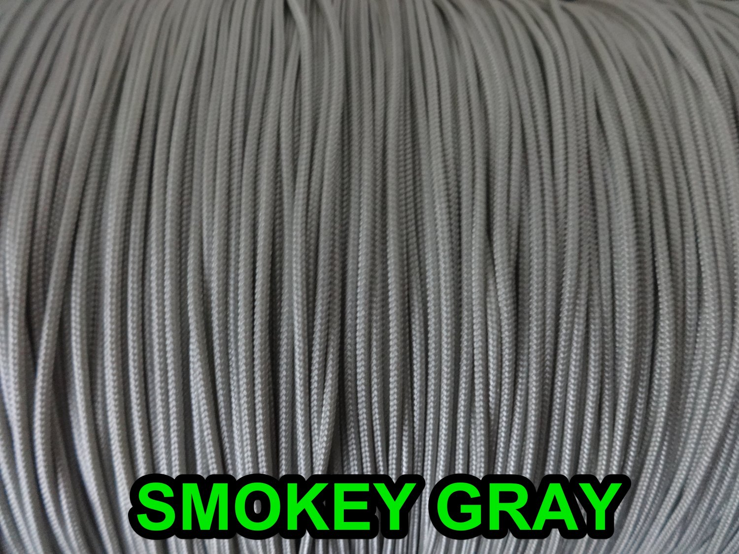100 FEET 1.4 MM SMOKEY GRAY Professional Braided Lift Cord / Blinds & Shades
