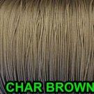 50 FEET:1.6 MM CHAR BROWN LIFT CORD : ROMAN/PLEATED shade & HORIZONTAL blind