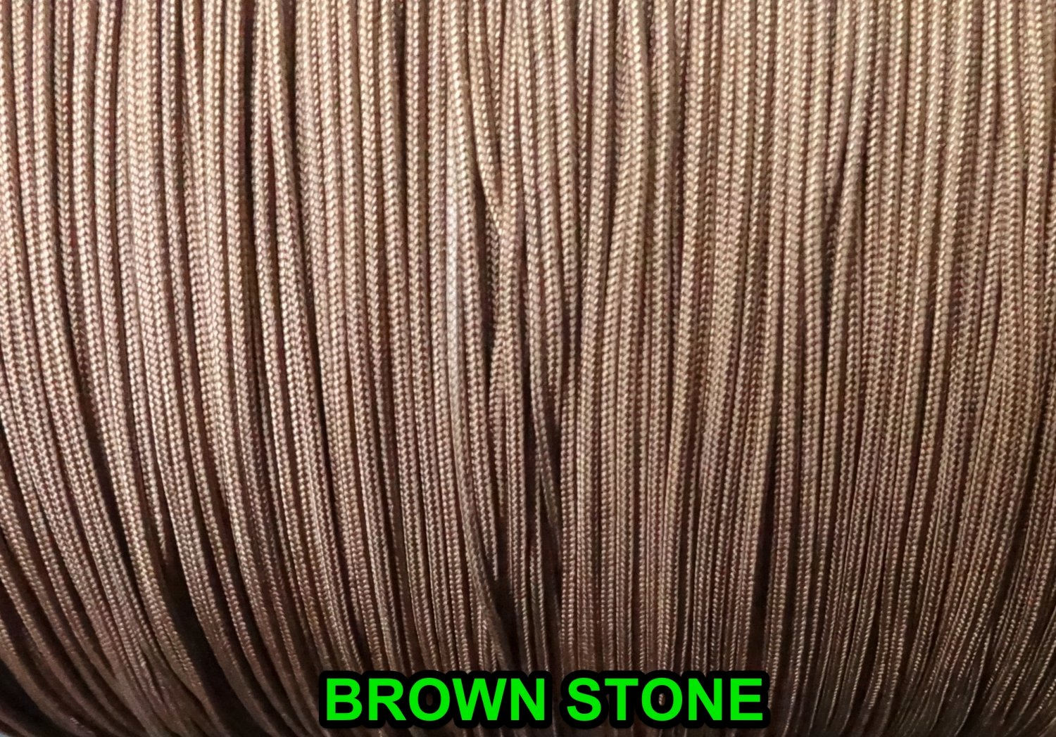 100 FEET 1.6 MM Brownstone  LIFT CORD for Blinds , Shades, Crafts,and More!.