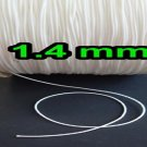 50 FEET : 1.4 MM WHITE LIFT CORD for Blinds, Roman Shades and More