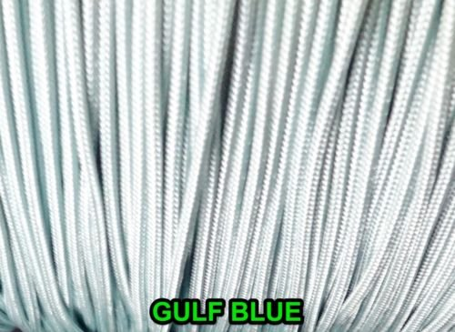 10 YARDS: GULF BLUE 1.8 MM Professional Braided Nylon Lift Cord /Blinds & Shades