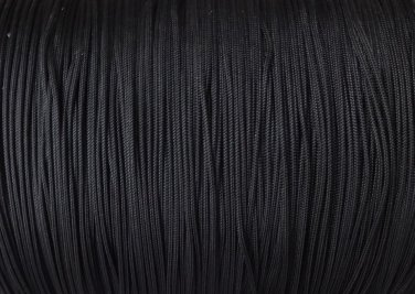 50  FEET:1.8 MM BLACK LIFT CORD for Blinds, Roman Shades and More
