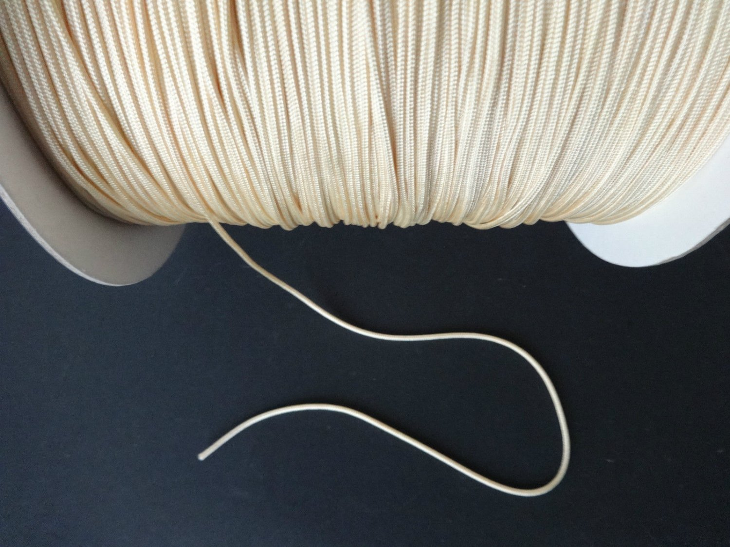 25 YARDS:1.8 MM GOLD CITRUS LIFT CORD : ROMAN/PLEATED shade & HORIZONTAL blind
