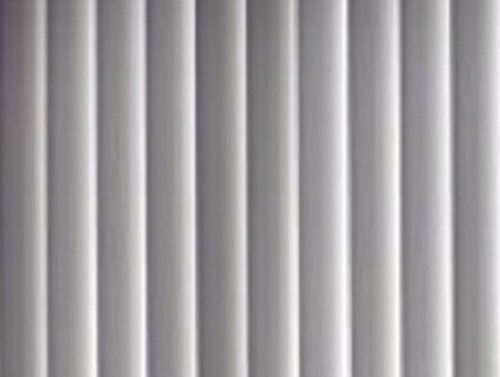PVC Vertical Blind Replacement Slat Smooth (White) 10 Pk 84 x 3 1/2