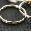 "100 QTY:  5/8"" Split Key Ring"