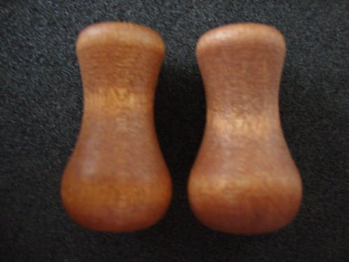 Real Wood Blind Tassels/ Cord Drop in CHERRY Stain, Vase Shaped