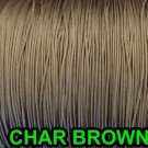 100 YARDS: 1.8 MM Professional Grade  Lift Cord For Blinds & Shades: CHAR BROWN