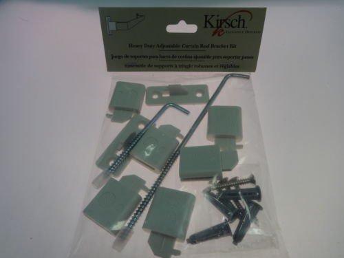 Kirsch LockSeam Curtain Rod projection extensions