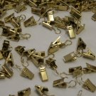 20 QTY:Brass Drapery Ring Clips for Drapery Rings by Amazing Drapery Hardware