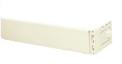 "Graber 2 1/2-Inch Dauphine Wide Pocket Curtain Rod(66-156"" Adjust. Width, White)"