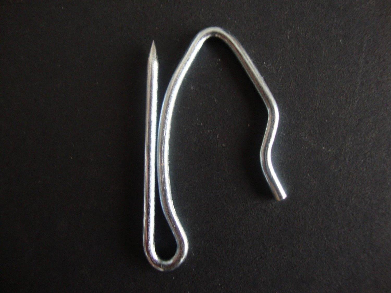 """14 QTY: Kirsch  1 1/2"""" Drapery Pins, offset"""
