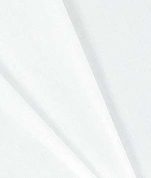 Hanes Drapery Lining Heavy Flannel White Fabric