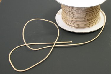 10 YARDS: TAN 1.4 MM Professional Grade Braided Lift Cord