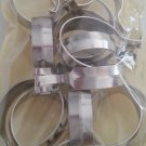 Graber 1-Inch Round Cafe Curtain Clips, Nickel - 14 Clips per Package #5-740-78