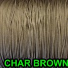 20 FEET: 1.2 MM, CHAR BROWN Professional Grade LIFT CORD for Window Treatments