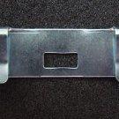 Vertical Blind Repair Clips - Flat Zinc - 10 pack