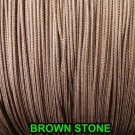 20 FEET:1.8 MM BROWNSTONE LIFT CORD for ROMAN/PLEATED shades & HORIZONTAL blind