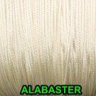 60 FEET: 0.9 MM, ALBASTER Professional Grade Nylon Lift Cord For Window Treatmen