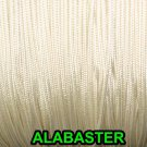 50 FEET: 1.2 MM, ALBASTER Professional Grade LIFT CORD for Window Treatments