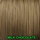 25 YARDS: 1.6 MM, MILK CHOCOLATE LIFT CORD for ROMAN/PLEATED shades &HORIZONTAL