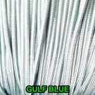 25 YARDS: 1.8 MM GULF BLUE LIFT CORD : ROMAN/ PLEATED shade & HORIZONTAL blind