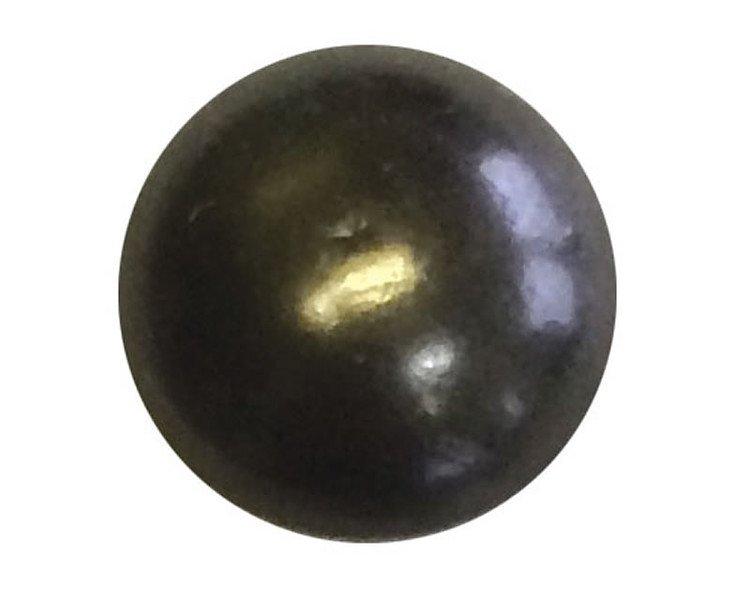 "100 QTY: C.S.Osborne & Co. No. 7140-BN 1/2 - Black Nickel/ post : 1/2"" head: 7/1"