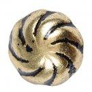 50 QTY: C.S.Osborne & Co. No. 6970-BRL 1/2 - Bronze Orient Lacquer Rolled/ post