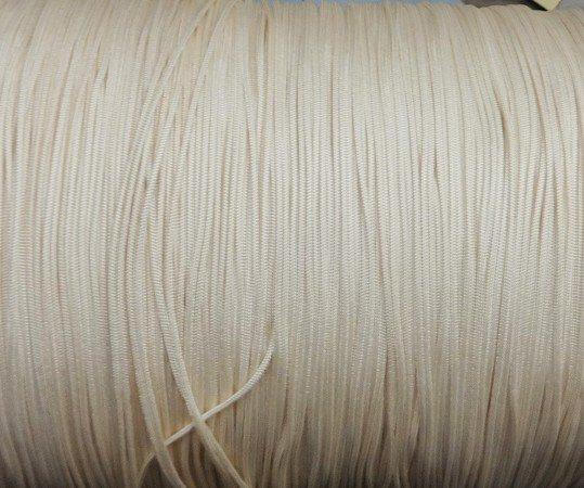 1000 YARDS: 1.2 MM, WARM ALABASTER Professional Grade LIFT CORD for Window Treat