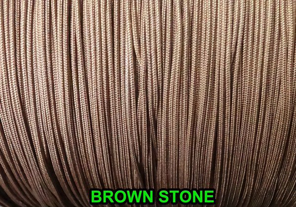 100 Yards :1.6 MM BROWNSTONE LIFT CORD for ROMAN shades & HORIZONTAL blind
