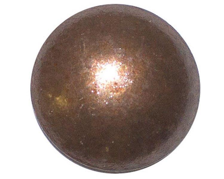 "50 QTY: C.S.Osborne & Co. No. 6990-AO 1/2 - Antique Oxidize - Small/ post : 1/2"""