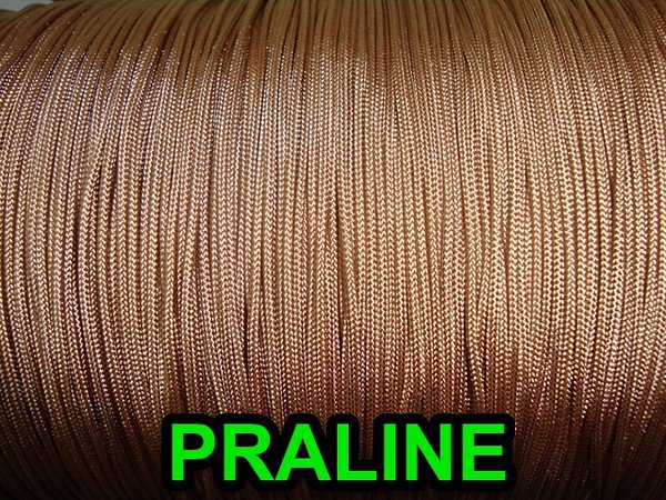 1000 YARDS: 0.9 MM, PRALINE Professional Grade Nylon Lift Cord For Window Treatm