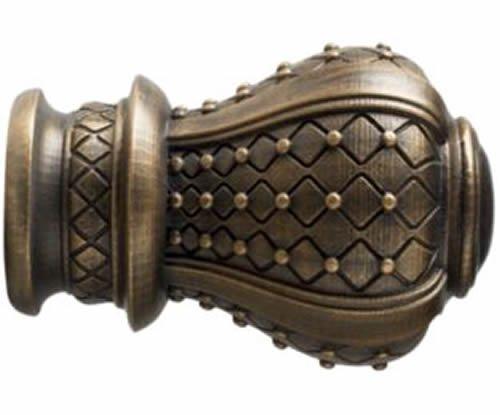 "Kirsch Wood Trends Renaissance  Westminster for 2"" pole, in Bronze(MPN#  2104389"