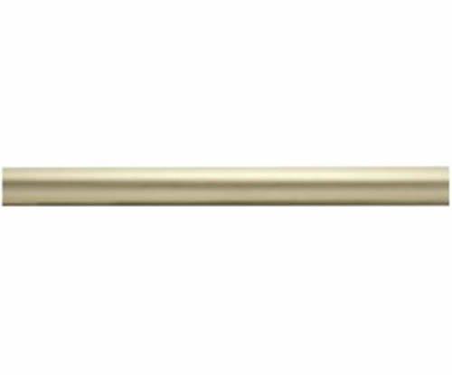 "Kirsch Wood Trends Classics Fluted 2""  Drapery Pole, Satin Gold 6 FT  (MPN# 5500"