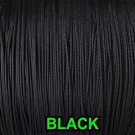 (Ship from USA) 10 YARDS: BLACK 1.8 MM Professional Braided Nylon Lift Cord For