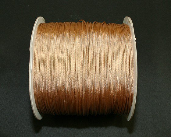 40 FEET: 1.6 MM, OAK LIFT CORD for ROMAN/PLEATED shades &HORIZONTAL blind
