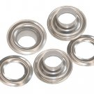 144 QTY-Osborne-No. N3-3-NICKEL Self Piercing Grommets & Plain Washers, size 3 (