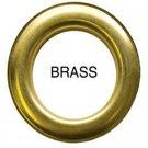 10 QTY: C.S. Osborne & Co. No G2-10 BRASS Spurred  Professional Drapery Grommets