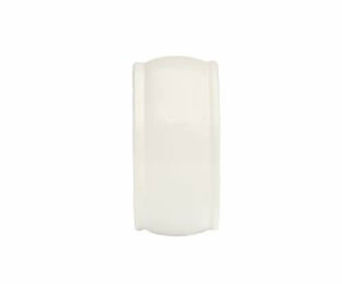 """Kirsch Wood Trends Classics End Cap Finial, for 1 3/8"""" pole, White (# 36808025)"""