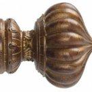 "Kirsch Wood Trends Renaissance  Kensington for 2"" pole, in Tortoise(#  21040119)"