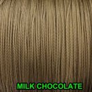 1000 YARDS: 1.6 MM MILK CHOCOLATE LIFT CORD | ROMAN/PLEATED shade / blinds