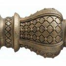 """Kirsch Wood Trends Renaissance Westminster for 2"""" pole,Golden Heirloom(21043880)"""