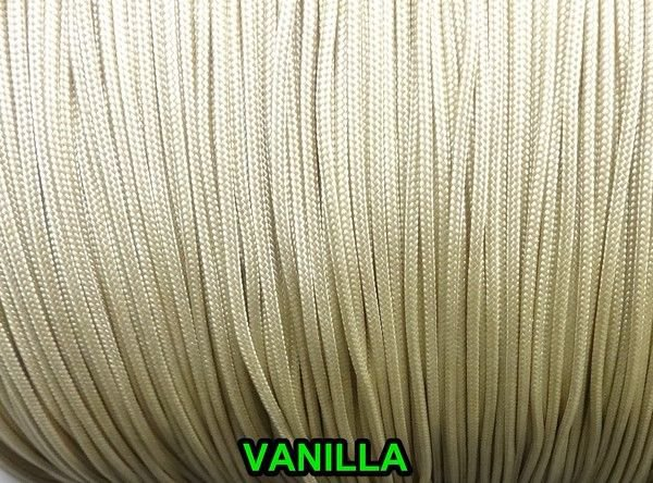 100 FEET : 2.0MM  VANILLA TRAVERSE CORD for Vertical Blinds & Draperies